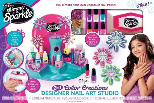 Shimmer'n Sparkle Ultimate Design Nail Art Studio