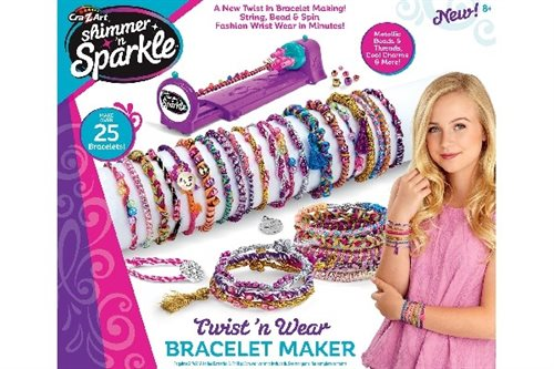 Shimmer'n Sparkle Twist N'Wear Bracelet maker