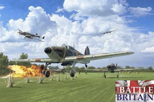 1:48 Hurricane MK.I - Battle of Britain 80th Anniv