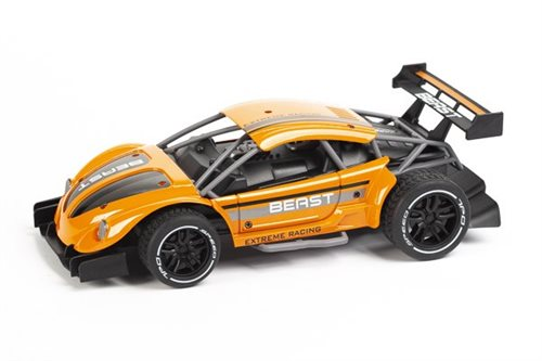 Beast on road metal R/C 1:16 2,4GHz orange