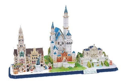 Puslespil Revell 3D-Puzzle Bayern Skyline