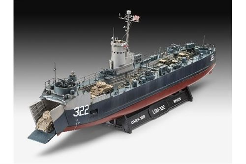 1:144 US Navy Landing Ship Medium (Bofors 40 mm gu