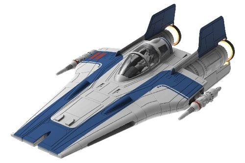 Revell Resistance A-Wing Fighter, Blå 1:44