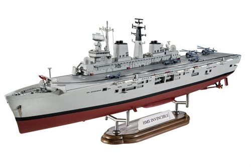 1:700 Model Set HMS Invincible (Falkland War)