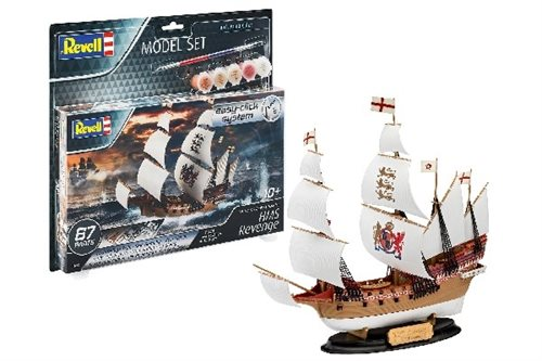 1:350 Model Set HMS Revenge (easy click)