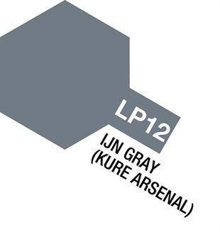 Tamiya Lacquer Paint LP-12 IJN Gray (Kure Arsenal)