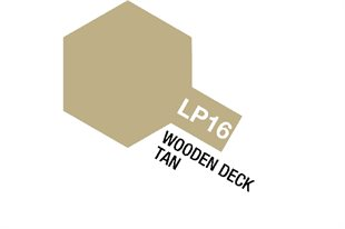 Tamiya Lacquer Paint LP-16 Wooden Deck Tan