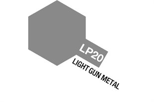 Tamiya Lacquer Paint LP-20 Light Gun Metal