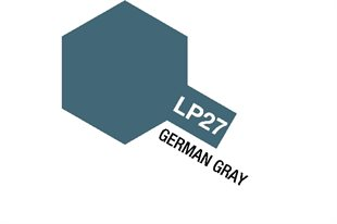 Tamiya Lacquer Paint LP-27 German Gray
