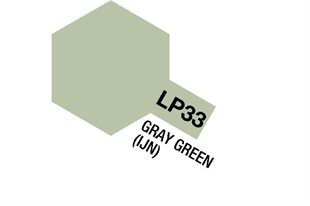 Tamiya Lacquer Paint LP-33 Gray Green (IJN)