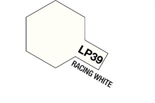 Tamiya Lacquer Paint LP-39 Racing White