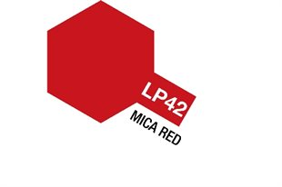 Tamiya Lacquer Paint LP-42 Mica Red