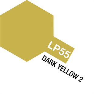 Tamiya Lacquer Paint LP-55 Dark Yellow 2