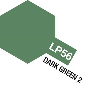 Tamiya Lacquer Paint LP-56 Dark Green 2