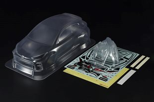 1/10 Scale R/C TOYOTA GR Yaris Body Parts Set