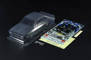 1/10 Scale R/C Ford Escort Mk.II Rally Body Parts