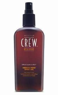 American Crew Medium Hold Spray Gel hårgele Mænd 250 ml
